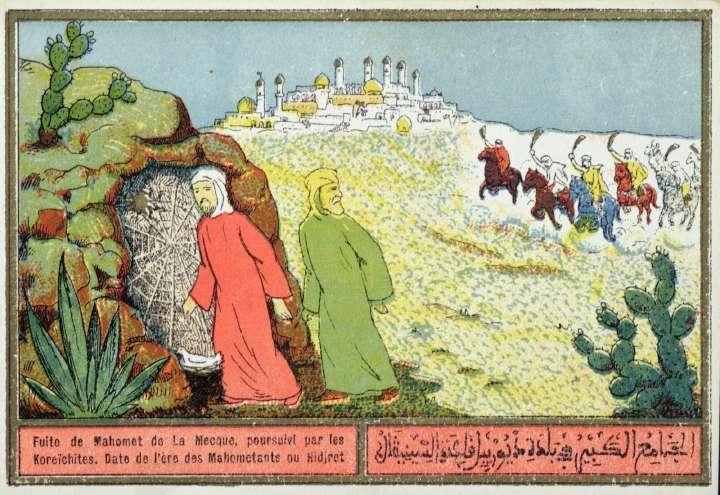 Carte postale algérienne, années 1920-1930