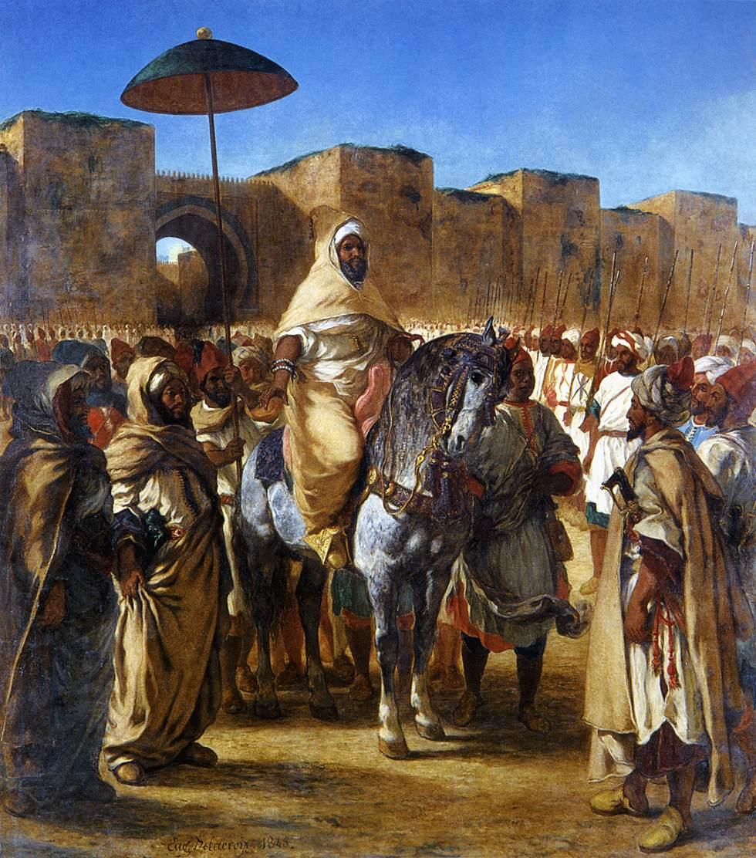DELACROIX_-_Moulay_Abd-er-Rahman,_sultan_du_Maroc